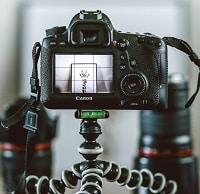 camera recording a video