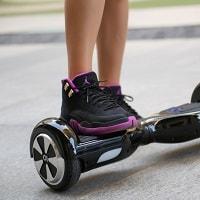 black premium hoverboard