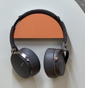 matte gray wireless headphones