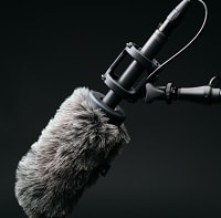 gray microphone