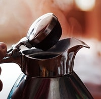 steamy electric kettle