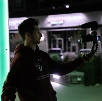 vlogging at night