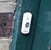 white wireless doorbells