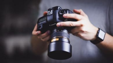 DSLR camera iso check