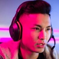 boy wearing gaming headset