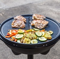 Opentop grill