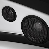 black car speaker