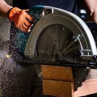large circular saw