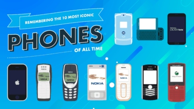 Photo of Remembering the 10 Most Iconic Phones of All Time (Infographic)